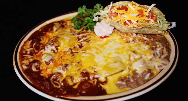 combo taco red green chile pickup curbside fast togo las cruces